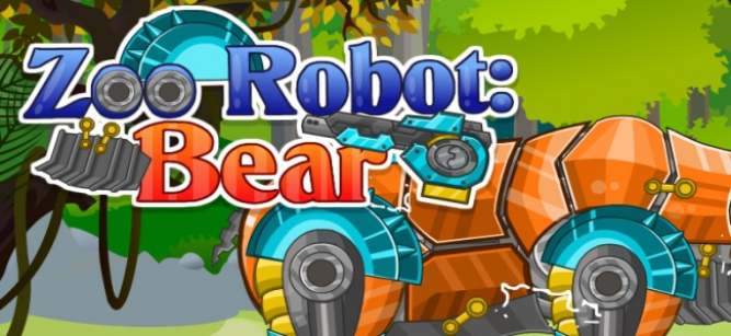 Zoo Robot Bear