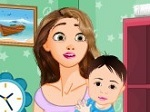 Play Rapunzel New Baby Room Cleaning free