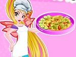 Game Winx Flora Greek Pita Pizzas
