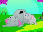 Play Wake up Mummy Elephant free