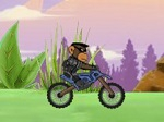 Play Monkey Motocross Island free