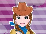 Play Frozen Sisters Cowgirl Fashion free