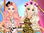 Play Princesses Sparkle Fashion free