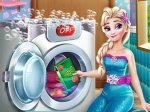 Game Ice Queen Laundry Day