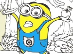 Play Minions Coloring Book free