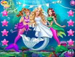 Game Mermaid Doll Wedding