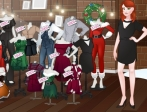 Play Instagirls Christmas Dress Up free