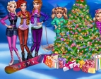 Play Princesses Christmas tree free