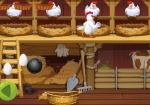 Play Angry Chicken Egg Madness free