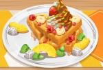 Play Yummy Waffle Ice Cream free