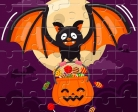 Play Halloween Puzzle Game free