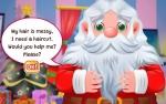 Game Santa Haircut