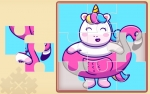 Game Cute Rainbow Unicorn Puzzles