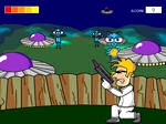 Play Arty Alien Shooter free