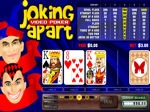Play Joking Apart Video Poker free