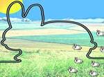 Game Cursor Love Bunny
