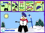 Game Virtual Snowman