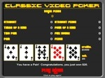 Play Classic Video Poker free