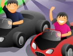 Play Bad Kids Racing free