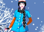 Game Winter Girl Dress Up
