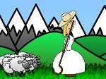 Game Little Bo Peep's Sheep Toss