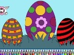 Game Easter Eggs Coloring