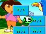 Play Dora Division Puzzle free