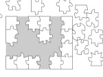 Game White Jigsaw