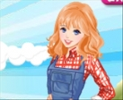 Play Bella and Sarah Farm Dress Up free
