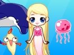 Play Barbie Mermaid free