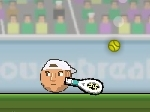Play Sports Heads Tennis free