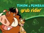 Play Timon & Pumbaa Grub Ridin free