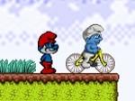 Play Smurf BMX free