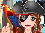 Play Pirate Girl Make Up Game free