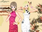 Game Sister's Cheongsam Show