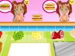 Play Breakfast Sandwich Shop free