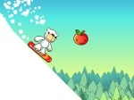 Game Polar Bear Snowboard