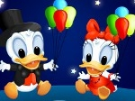Play Baby Donald and Daisy free