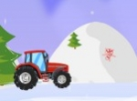 Play Christmas Tractor Race free