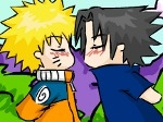 Play Sasunaru Kissing Game free