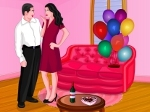 Play Valentine Party Room Decoration free