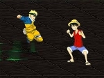 Play Naruto vs Luffy from One Piece free