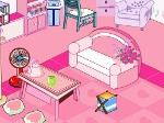 Play Pink Room Decor Game free