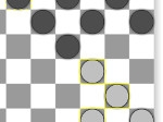 Play English draughts free