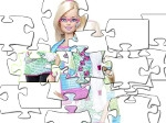Play Barbie puzzle free