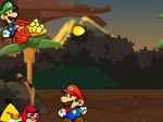 Game Mario vs Angry Birds
