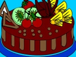 Play Colour the cake free
