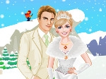 Game Dress Up Winter Bride