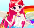 Game Rainbow Fairy Dress-Up