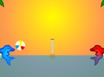 Play Dolphin Volleyball free